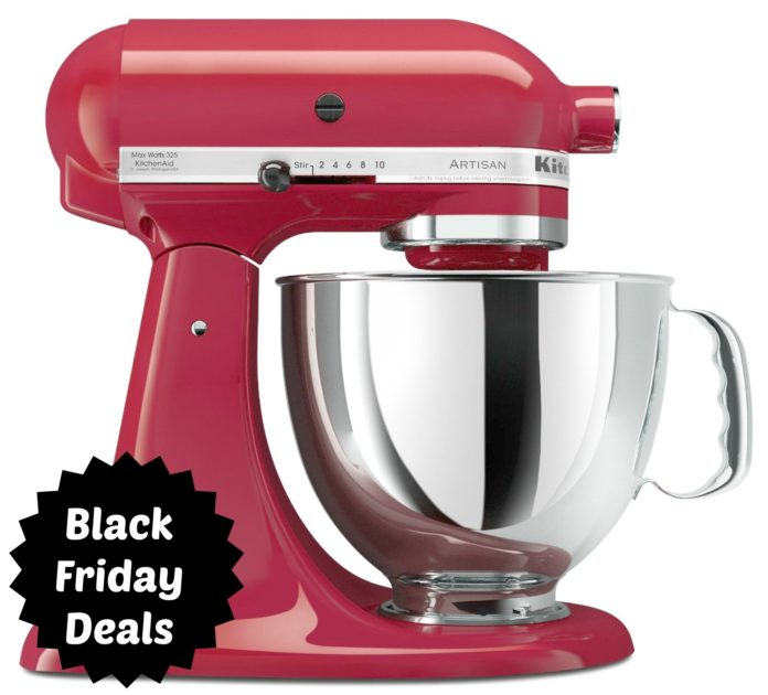 KitchenAid Stand Mixer Black Friday Deals 2017
